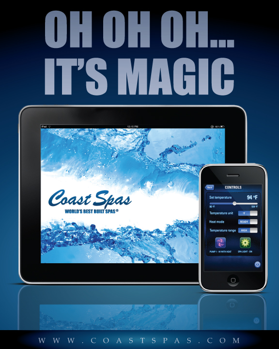 Coast Spas_iPad
